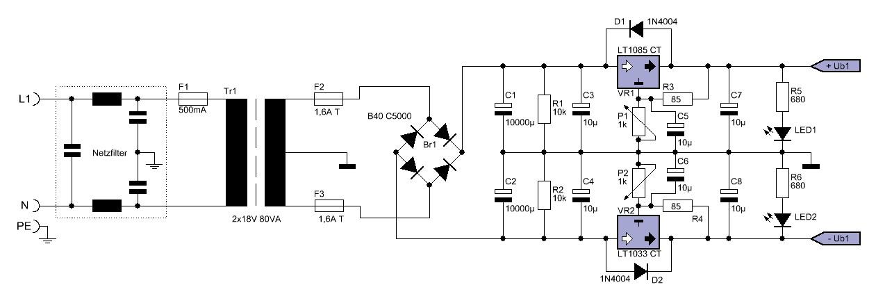 discrete instrumentation amplifier